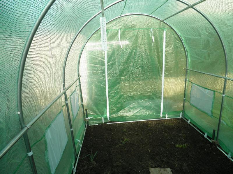 Serre tunnel for Serres de jardin belgique